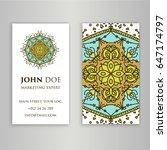 vintage decorative elements....   Shutterstock .eps vector #647174797