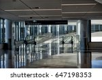 inside view of a very modern... | Shutterstock . vector #647198353