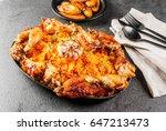 west african national cuisine.... | Shutterstock . vector #647213473