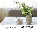 Vase With Branches Of A...