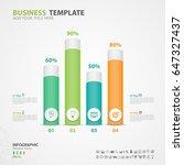 infographics elements diagram... | Shutterstock .eps vector #647327437