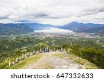 breathtaking view of takengon... | Shutterstock . vector #647332633