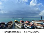 port royal kingston jamaica | Shutterstock . vector #647428093