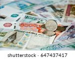 coin with symbol of russian...   Shutterstock . vector #647437417