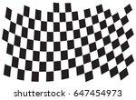 checkered flag. racing flag...   Shutterstock .eps vector #647454973