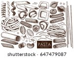 vector collection of... | Shutterstock .eps vector #647479087