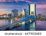 jacksonville  florida  usa... | Shutterstock . vector #647503483