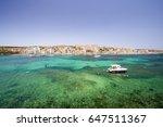 st paul's bay  malta | Shutterstock . vector #647511367
