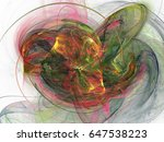 abstract fractal background.... | Shutterstock . vector #647538223