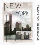 Photo Print New York Building...