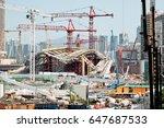 hong kong   may 11   under... | Shutterstock . vector #647687533