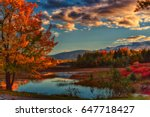 afternoon in acadia national... | Shutterstock . vector #647718427