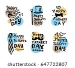 fathers day emblems collection. ...