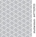 vector grey pattern. geometric...   Shutterstock .eps vector #647732923