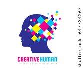 creative human head   vector...   Shutterstock .eps vector #647734267