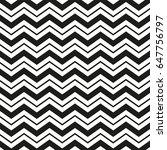 wavy black zig zag pattern   Shutterstock .eps vector #647756797