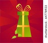 christmas present background | Shutterstock .eps vector #64778923