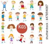 cartoon vector illustration of... | Shutterstock .eps vector #647854087