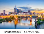 nashville  tennessee  usa... | Shutterstock . vector #647907703