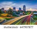 winston salem  north carolina ... | Shutterstock . vector #647907877