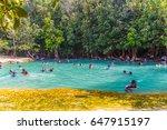 krabi  thailand   march 04 ...   Shutterstock . vector #647915197
