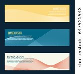 banner design with ribbon | Shutterstock .eps vector #647925943