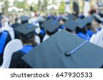 graduation ceremony | Shutterstock . vector #647930533