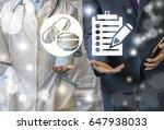 pharmacy compliance.... | Shutterstock . vector #647938033