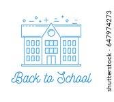 back to school illustration... | Shutterstock .eps vector #647974273
