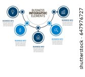 business infographics template | Shutterstock .eps vector #647976727