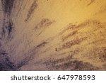 abstract blotch on the asphalt. ... | Shutterstock . vector #647978593