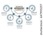 infographic elements templates   Shutterstock .eps vector #647993257