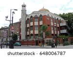 the north london central mosque ... | Shutterstock . vector #648006787