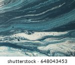 blue and white marble stone... | Shutterstock . vector #648043453