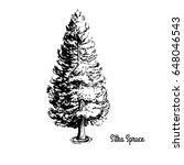 vector sketch illustration....   Shutterstock .eps vector #648046543