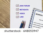 Small photo of Search Algorithm concept- how to attract visitor to your website.