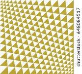 op art vector background of... | Shutterstock .eps vector #648084517