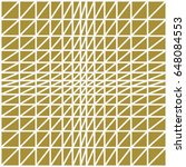 op art vector background of... | Shutterstock .eps vector #648084553