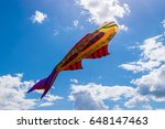 Huge  Fish Kite Hovering In Th...