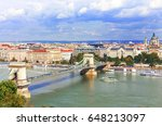 hungary. budapest. view on... | Shutterstock . vector #648213097