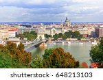 hungary. budapest. view on... | Shutterstock . vector #648213103