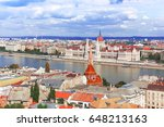 hungary. budapest. view on... | Shutterstock . vector #648213163