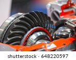 part of a car automatic... | Shutterstock . vector #648220597