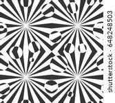 black and white geometric... | Shutterstock .eps vector #648248503