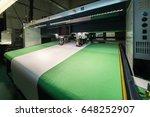 cnc machine for cutting fabrics ... | Shutterstock . vector #648252907
