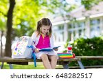 child going back to school.... | Shutterstock . vector #648282517