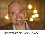 closeup headshot portrait ...   Shutterstock . vector #648376273