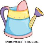 illustration of garden tool on... | Shutterstock .eps vector #64838281