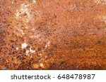 rust corroded oxidize colorful... | Shutterstock . vector #648478987