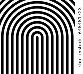black circular lines on white... | Shutterstock .eps vector #648481723